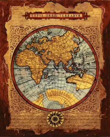 377 best OLD MAPS images on Pinterest Antique maps, Old maps and - copy world map graphic creator