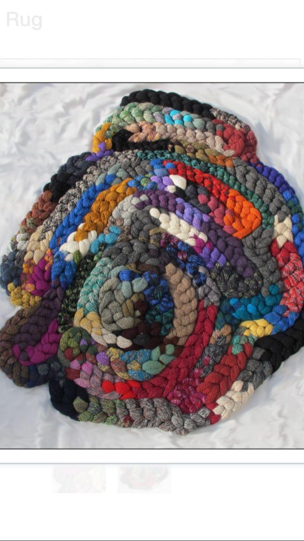 Custom Made Giant Knitted Rug