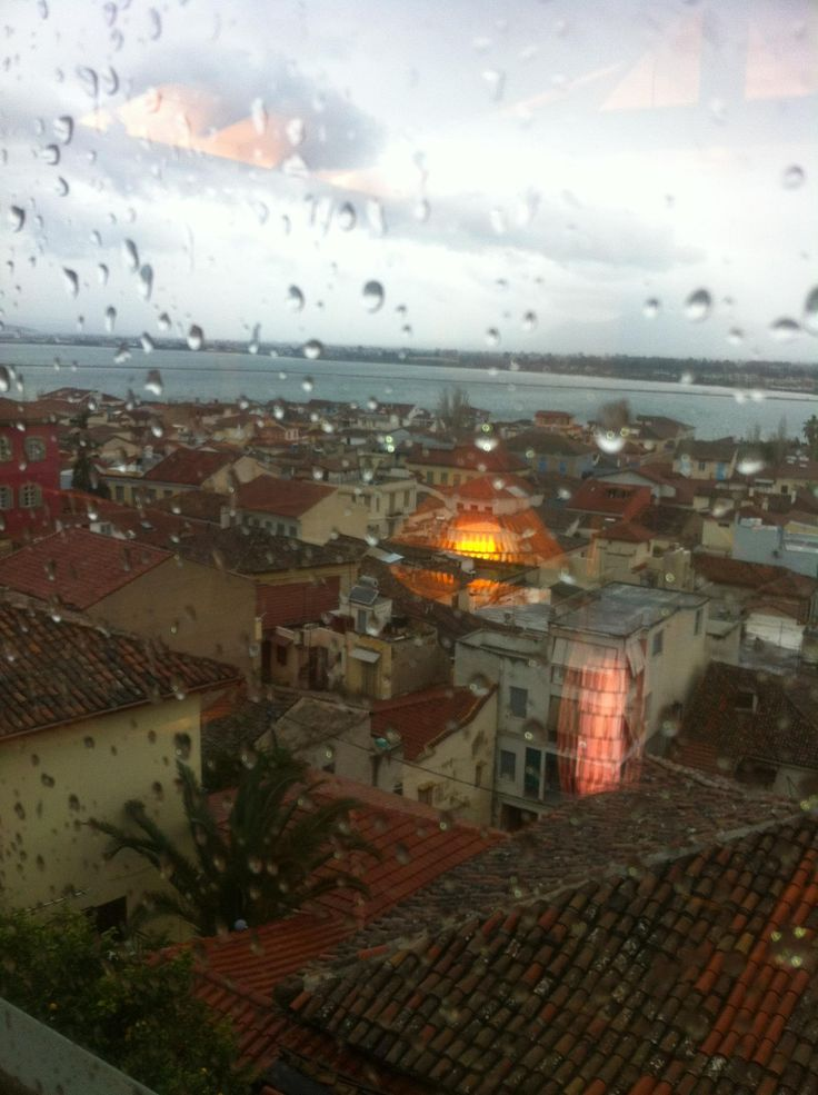 A rainy day at Amfitriti Palazzo Hotel