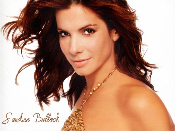 Sandra Bullock (2nd on my list!)