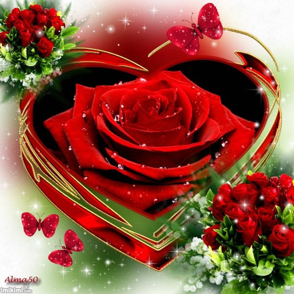 Love Roses And Hearts Wallpapers Roses Gallery