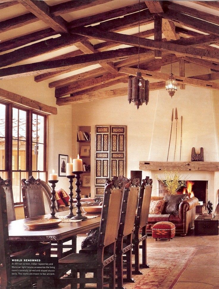 Best 25 rustic dining chairs ideas on pinterest dining for Mexican dining room ideas