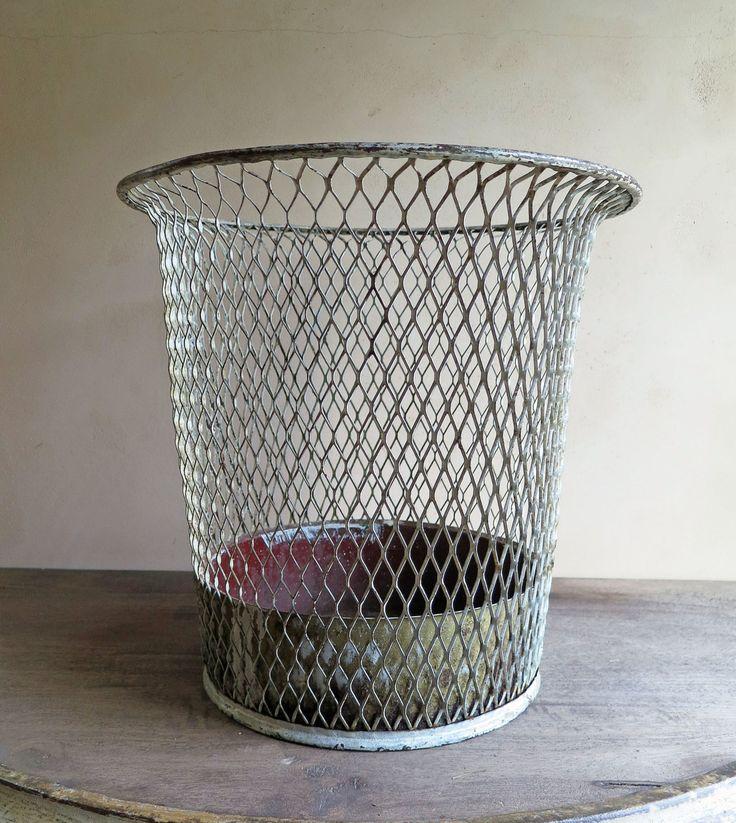 Wire Waste Basket best 20+ industrial waste baskets ideas on pinterest | rustic cake