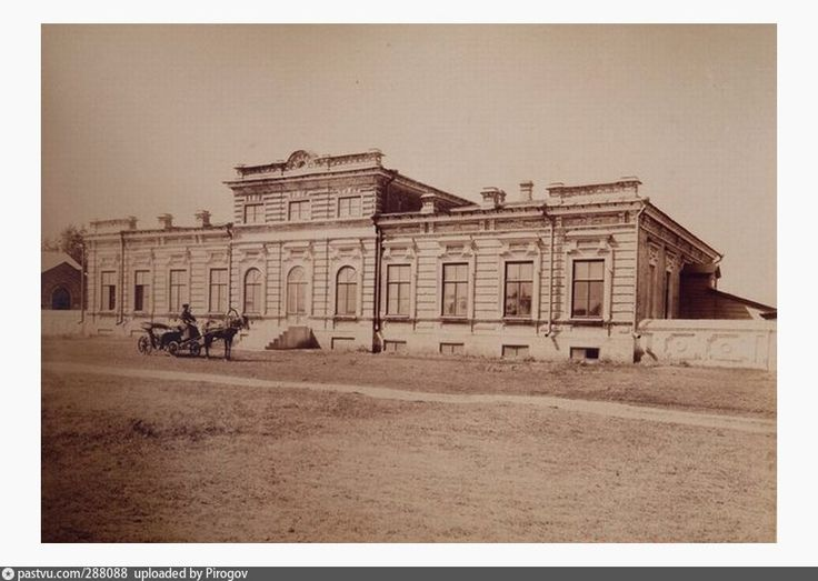 Нахичевань-на-Дону. Армянская богадельня  1895