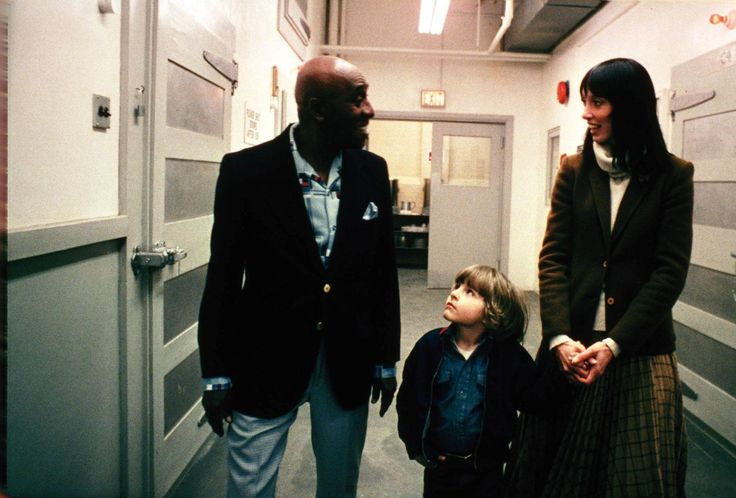 Still of Scatman Crothers, Shelley Duvall and Danny Lloyd in The Shining (1980) http://www.movpins.com/dHQwMDgxNTA1/the-shining-(1980)/still-2162788096