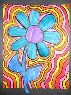 Art Projects from MN Art Gal: echo flower...
