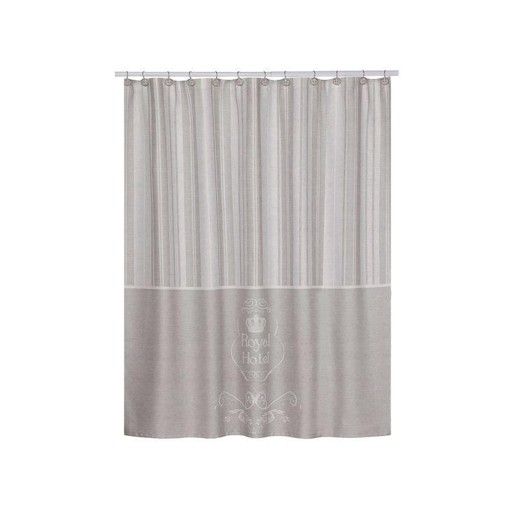Creative Bath Royal Hotel Shower Curtain, Multicolor