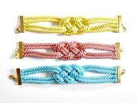How to make a rope bracelet. Diy Rope Bracelets - Step 5