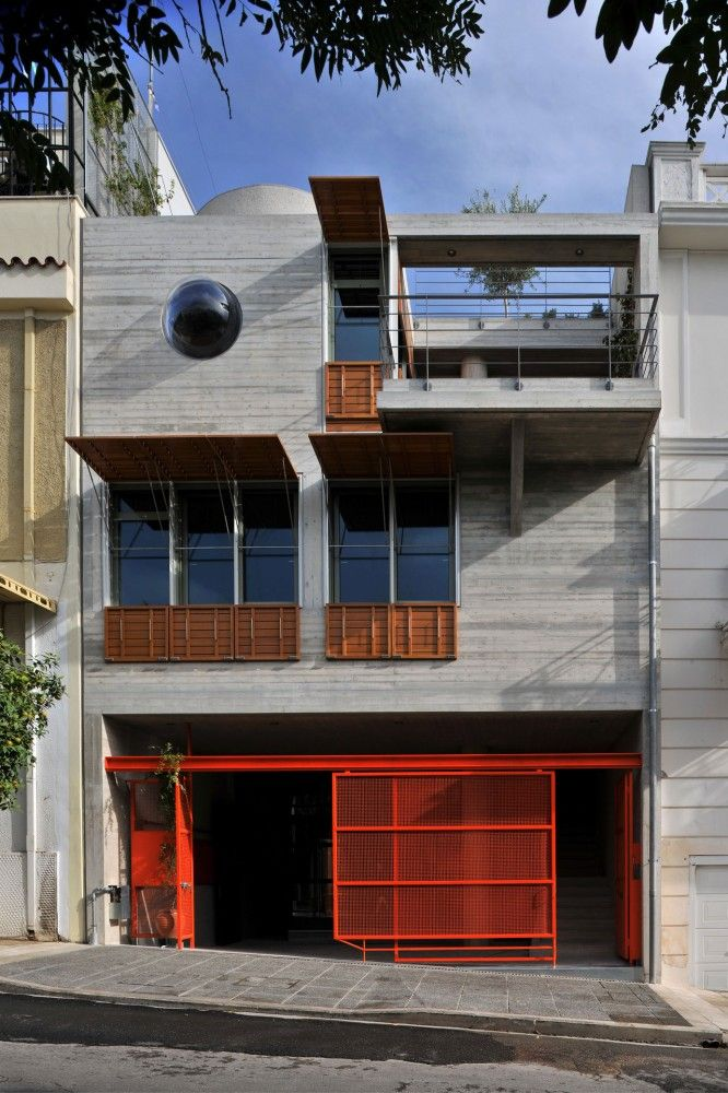 The House Box, Koukaki, Athens, Greece by Sofia Tsiraki.: Building, Athens Greece, Sofia Tsiraki, Houses Boxes, Koukaki, Home Interiors Design, Architecture, Design Home, Houses Design