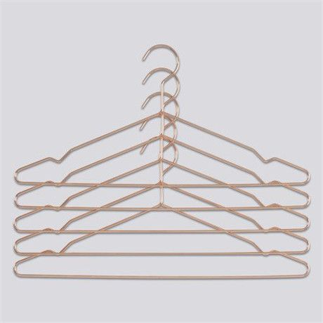 HAY Hay Hang Set Of 5 Copper Hangers - Trouva