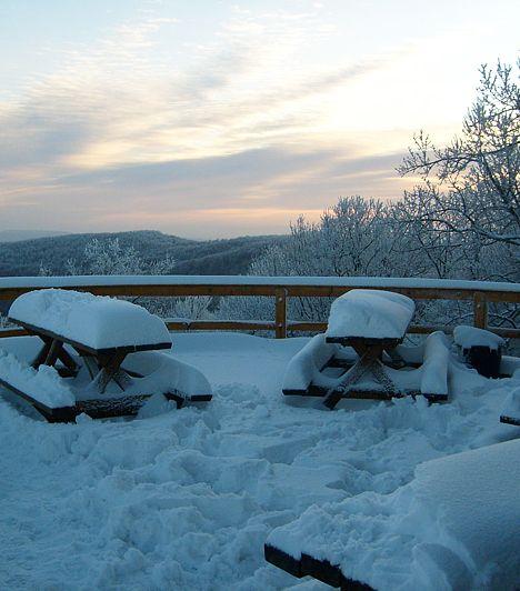 Ezek a helyek télen is elvarázsolnak.