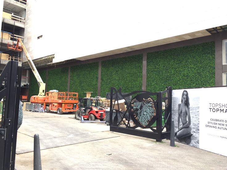 Greenwall outdoor UV proof Groene wand voor buiten UV bestendig