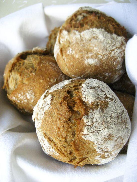 Υπέροχο ψωμί χωρίς ζύμωμα