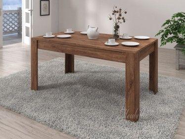 Eetkamertafel Savannah is een eetkamertafel die geschikt is voor 4 tot 6 personen in Eiken kleur. De tafel heeft een lengte van 160 cm en is 90 cm breed.