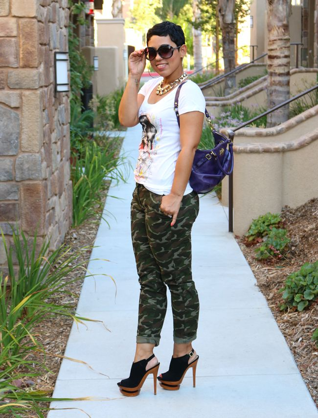 Casual OOTD Camo Look