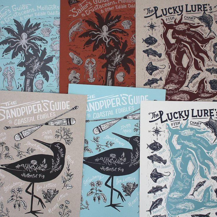 Monorail Studio Prints - Handprinted Posters - Etsy, Handmade Marketplace