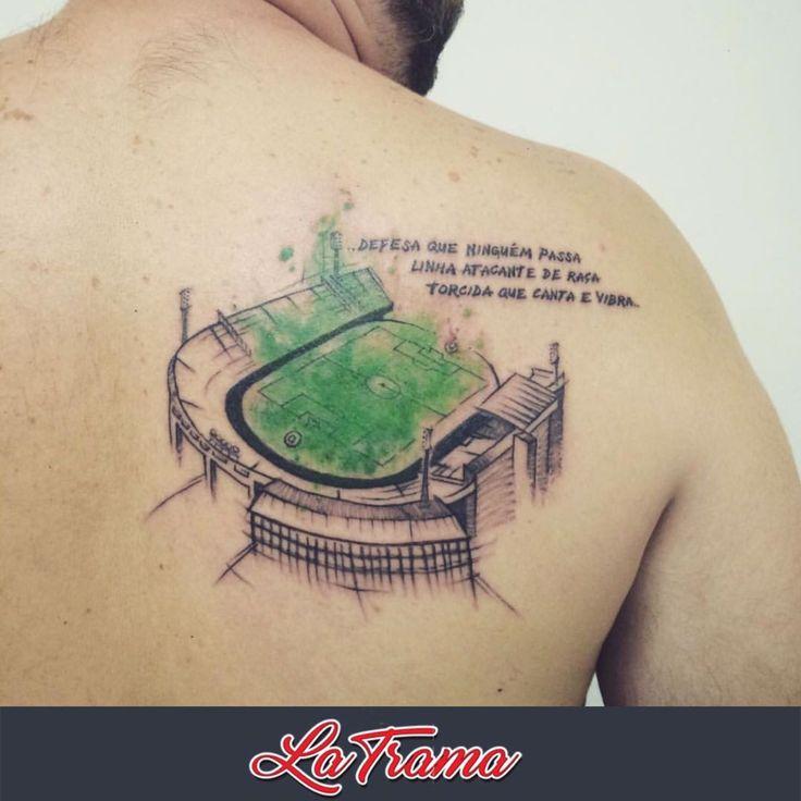 Tattoo feita em Studio La Trama By Daniel Alves @dn_alves
