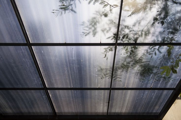 Polycarbonate Canopy with Hollow Steel Structure