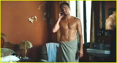 Leo DiCaprio's Shirtless Scene...HELLO