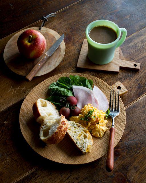 朝食。breakfast