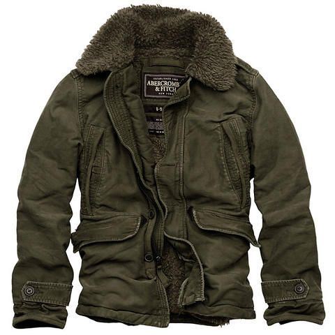 Men's winter jacket from Abercrombie & Fitch. i know, who still wears abercrombie but i really like this jacket.