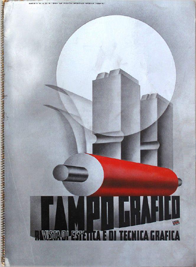Campo Grafico - Nº.4 - Carlo Dradi, Attilio Rossi, April 1933