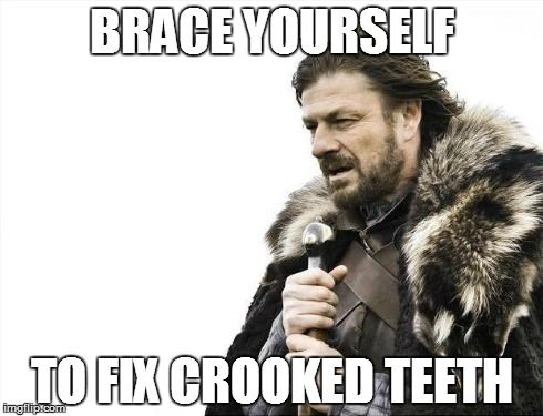 Braces. Get them, love them. #dentistry