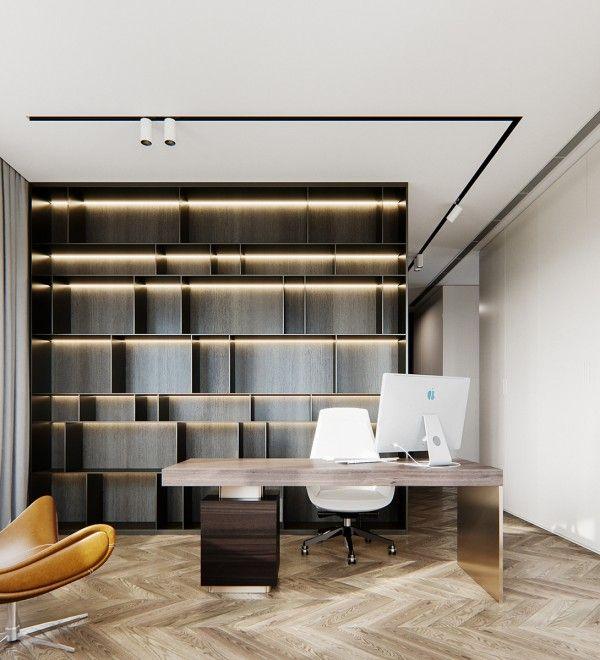 Pin By Sybil 日尧 On 书房氛围图 Home Study Rooms Modern Office