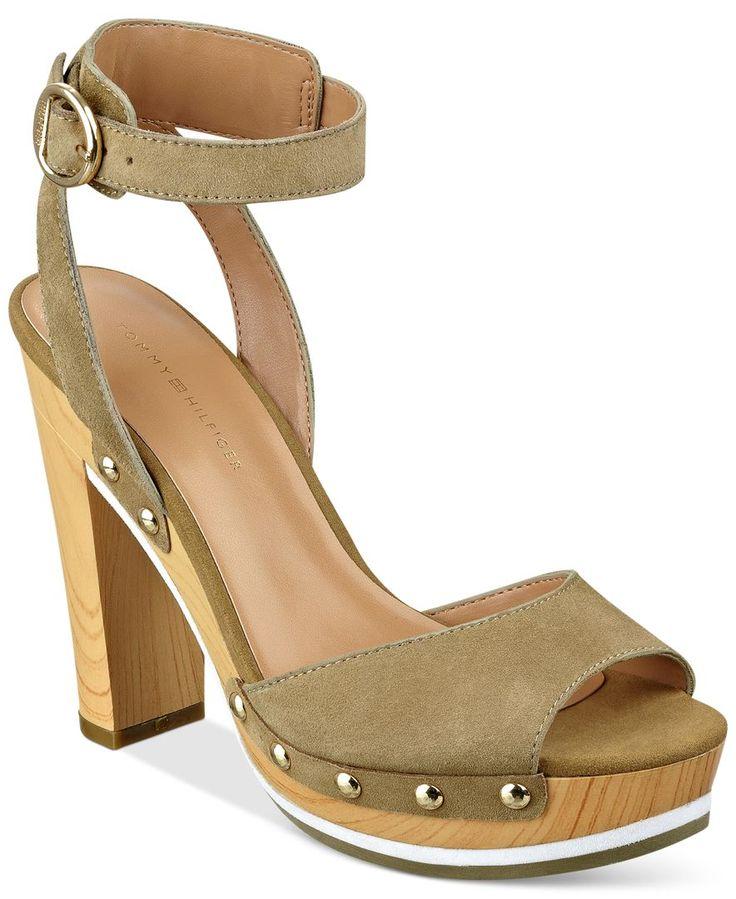 Tommy Hilfiger Wendel Platform Dress Sandals