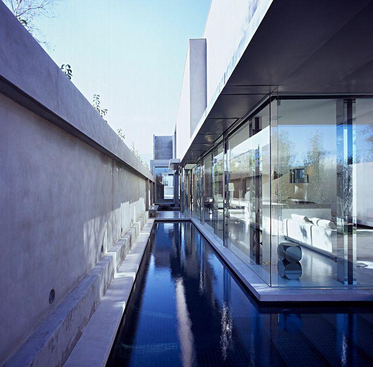 Killer pool space: Residential Architecture, Lap Pools, Ross Street, Mills Architects, Interiors Design, Design Melbourne, House, Robert Mills, Australian Studios