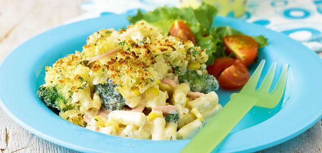 Broccoli, Sweetcorn & Bacon Macaroni Recipe - Sainsbury's