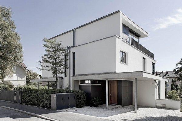 13 besten doppelhaus bilder auf pinterest moderne h user for Doppelhaus moderne architektur