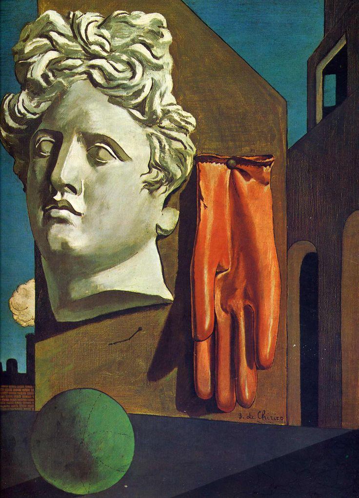La canción de amor - Giorgio de Chirico · 1914