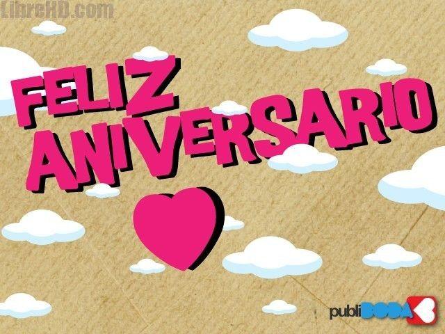 Feliz Aniversario Imagenes: 9 Best Imagenes Feliz Aniversario Amor Images On Pinterest