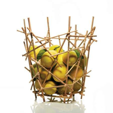 Campana Brothers New Bamboo Collection For Alessi #DIY trendhunter.com