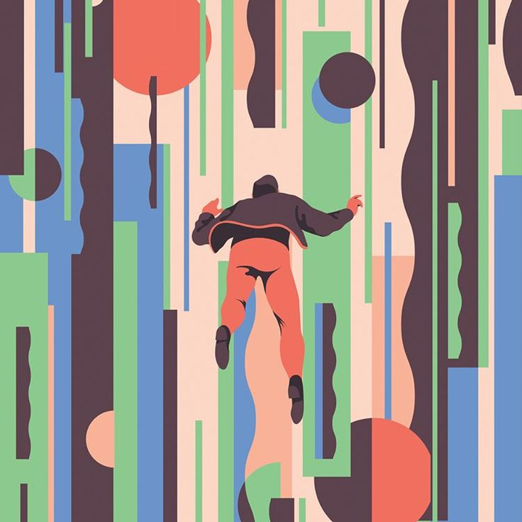 "703 Likes, 13 Comments - Sébastien Plassard (@sebastienplassard) on Instagram: ""#flying #shapes #pattern #illustration"""