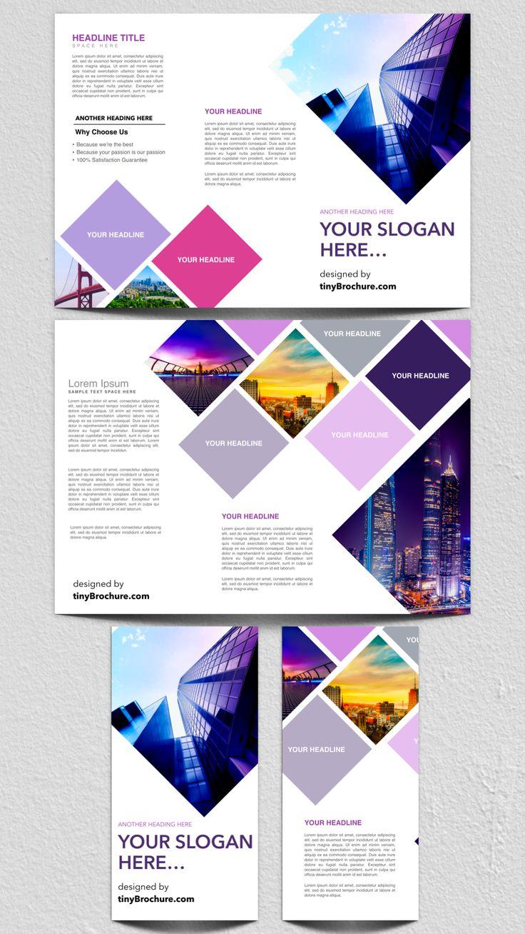 3 panel brochure template google docs free graphic. Black Bedroom Furniture Sets. Home Design Ideas