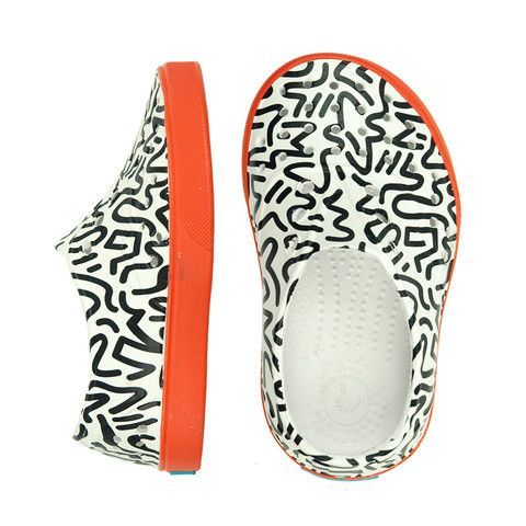 native miller doodle print shoes - mini mioche - organic infant clothing and kids clothes - made in Canada