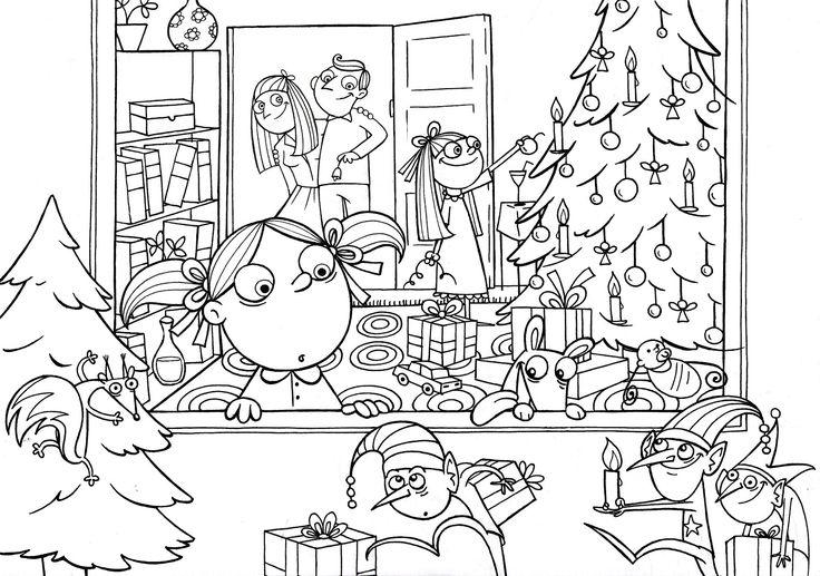 χριστουγεννιατικες ζωγραφιες για παιδια δημοτικου - Αναζήτηση Google