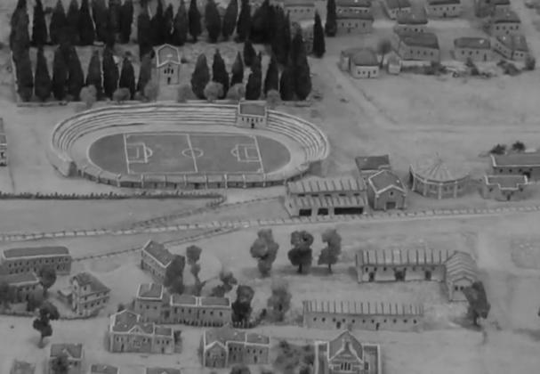 Μακέτα ολόκληρης της Σμύρνης (video)
