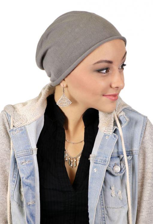 75a3e92fe38 Chelsea Cotton Beanie for chemo patients. Cancer headwear Parkhurst ...