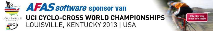 AFAS Software sponsort wereldkampioenschap veldrijden in USA @UCI_cycling  @marianne_vos @Niels_Albert