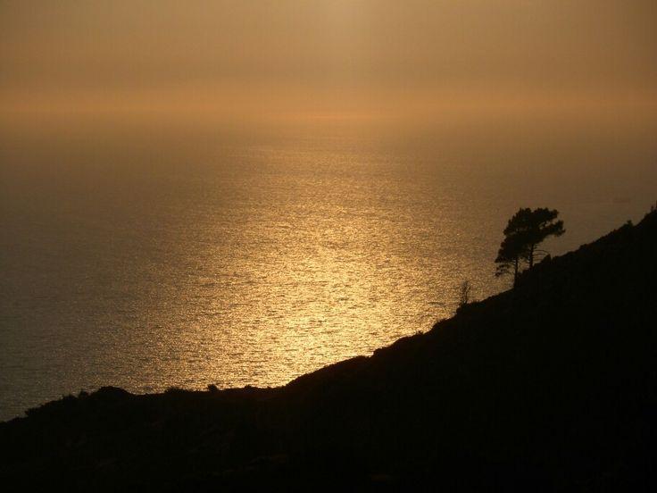 Sunset Kallithea, Samos Greece