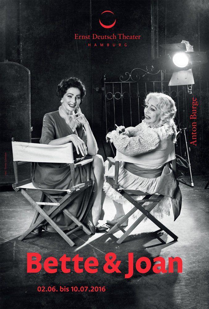 """Am 2. Juni feiert Désirée Nick als Joan Crawford in """"Bette & Joan"""" am Hamburger Ernst-Deutsch-Theater Premiere."""