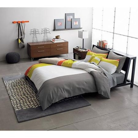 san francisco crate and barrel cb2 alpine gunmetal queen bed frame 450 http