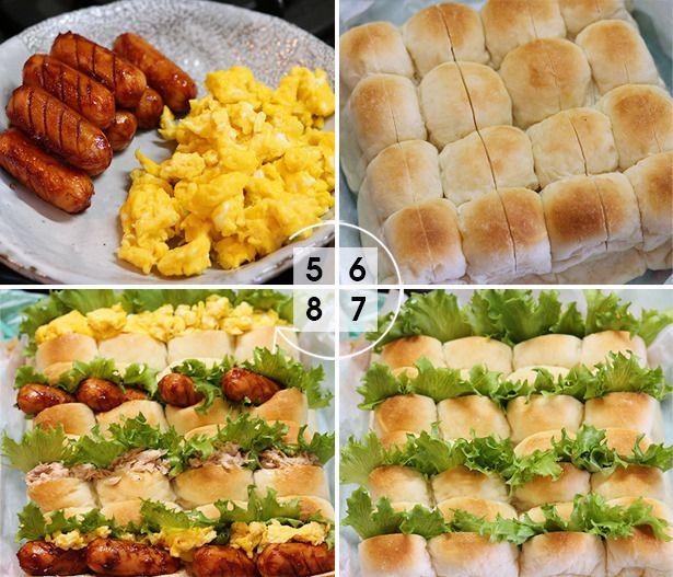 運動会のお弁当は子どものテンションをあげて、やる気のでるようなメニューにしてあげたいのが親心。 素麺弁当なども人気ですが、大人数でも食べやすくて、色々な味を楽しめる「ちぎりパンサンド」はいかがでしょうか? ちぎりパンに好きな具材を挟むだけで、ワクワクするようなお外サンドイッチになるんです。 今回は運動会のお弁当にもぴったりな、ちぎりパンサンドの作り方とおすすめの持ち運び方法をご紹介します。