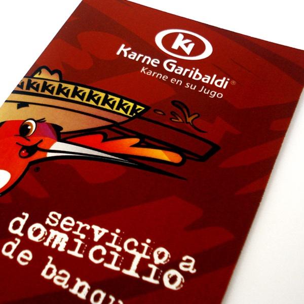 karne garibaldi self promotion flyer | © all rights reserved