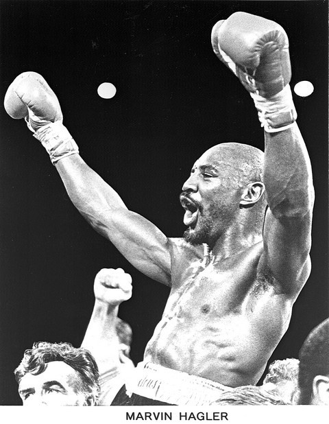 Or Person in this case -- Marvelous Marvin Hagler.