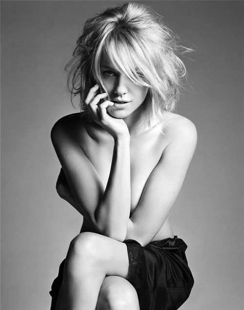 Naomi Watts by Michael Thompson #boudior #viviansmuse #boudoir ideas photo not by viviansmuse.com