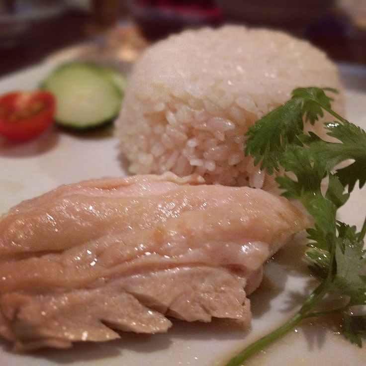 海南鶏飯  #関西一 #鶏が柔らかジューシー #米のかほりもたまらん #もちろんおかわりした